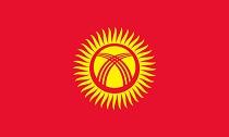 Bandiera Kirgyzstan