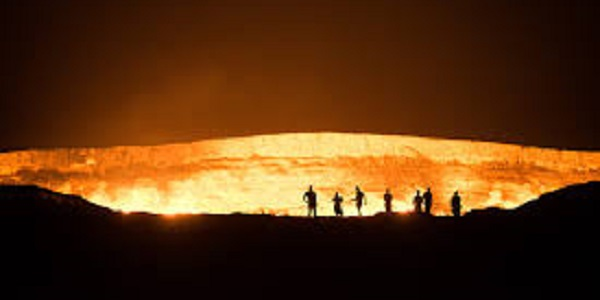 Dervaza crater porta dell'inferno