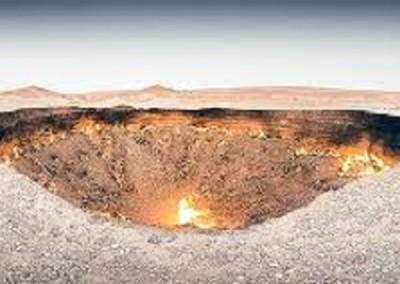 cratere Dervaza