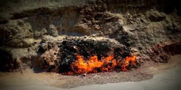 fuoco ad Atesghah