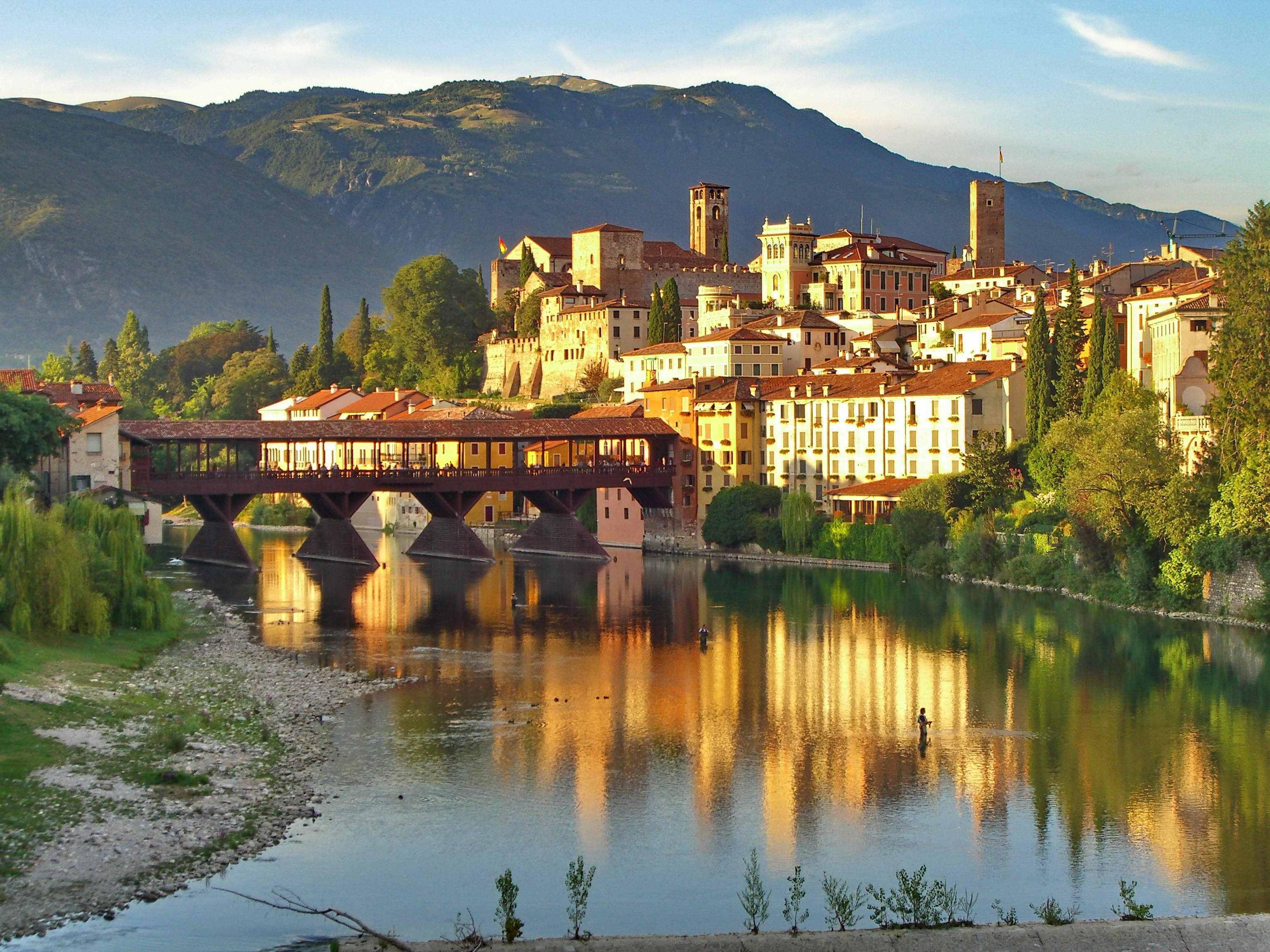 veduta-del-ponte-di-Bassano-del-Grappa