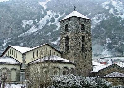 Andorra la Vella in inverno