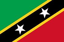 Bandiera Saint Kitts & Nevis