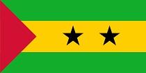 Bandiera Sao Tomè & Principe