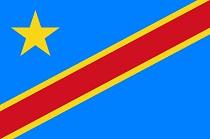 Bandiera repubblica Democratica del Congo