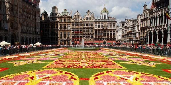 Bruxelles Tappeto di fiori