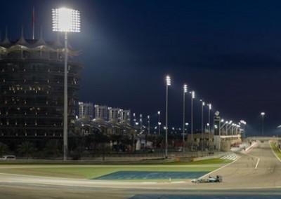 F1 circuito di notte