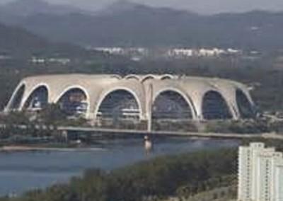 Pyongyang stadium
