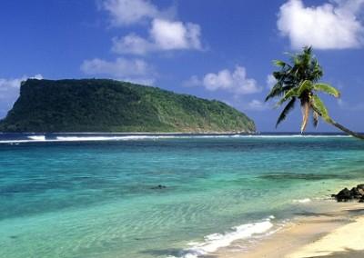 Upolu Island,lalomanu beach
