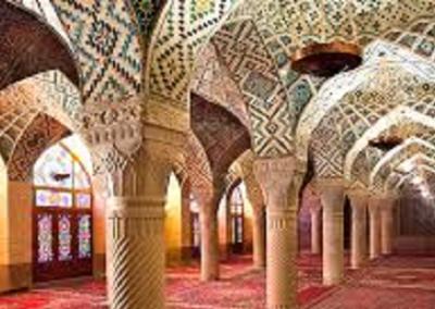 Shiraz mosque Nasir al Molk