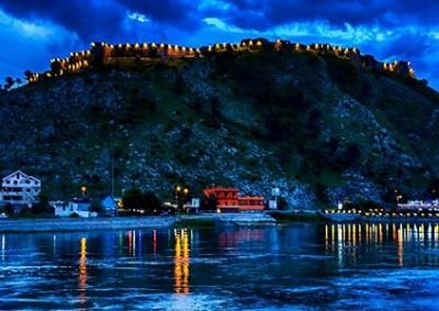Shkodër e castello di Roazafa