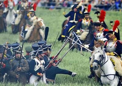 Waterloo ricostruzione battaglia