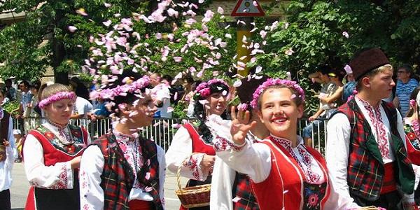 Kazanlak festa delle rose