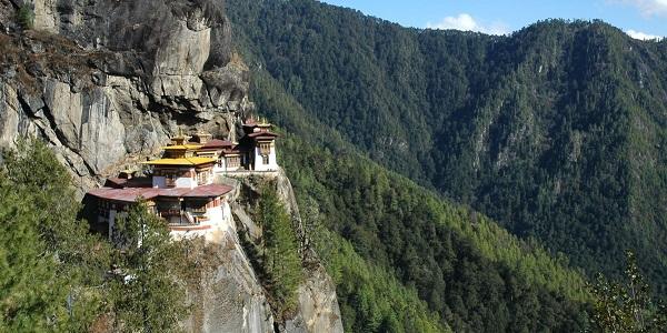 Bhutan Taktsang-monastery