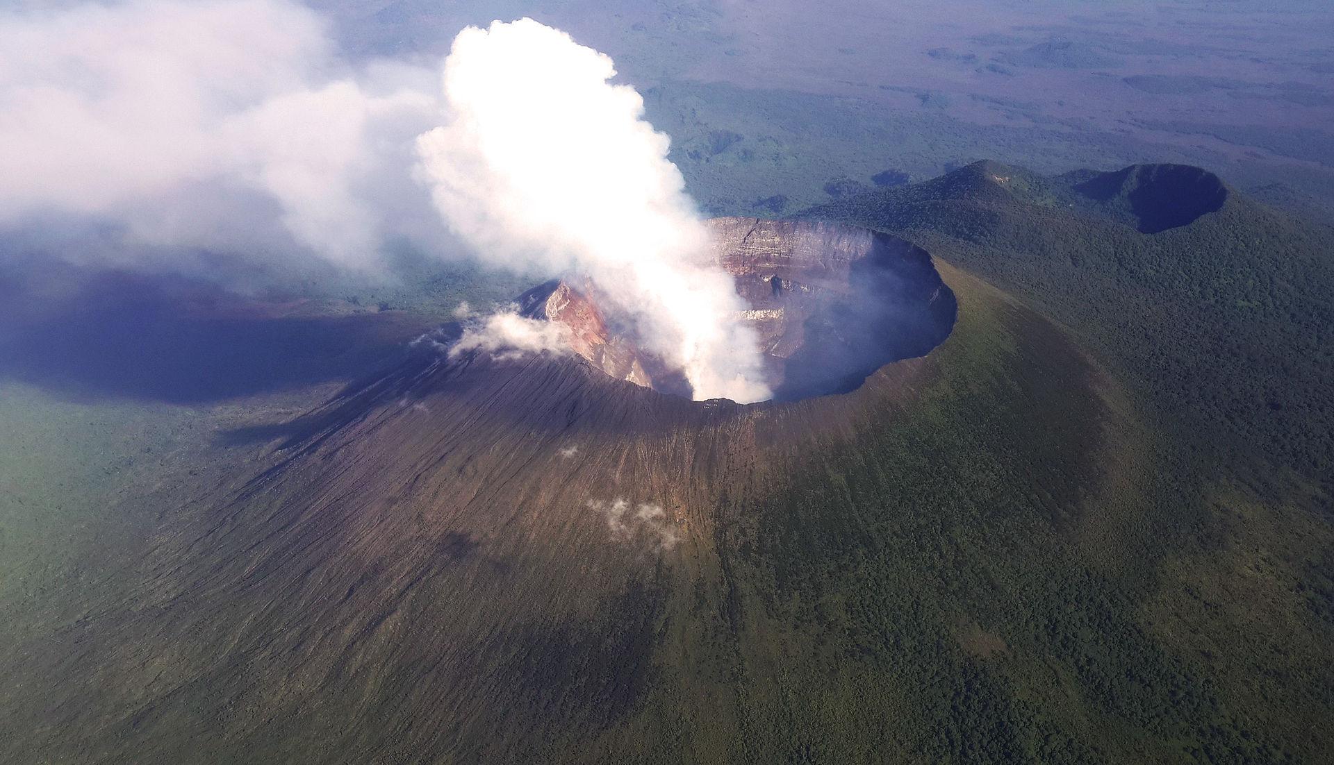 Congo volcan Mt._Nyiragongo