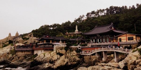 Corea del Sud tempio-Haedong-Yonggung