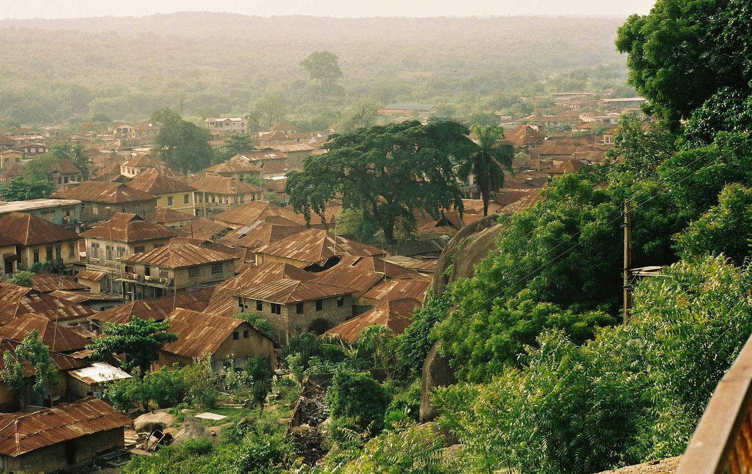 Nigeria Abeokutafromolumorock