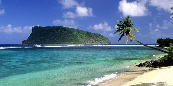 oceania samoa upolu island lalomanu beach