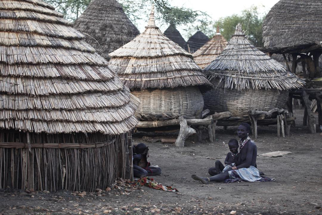 Sud Sudan villaggio
