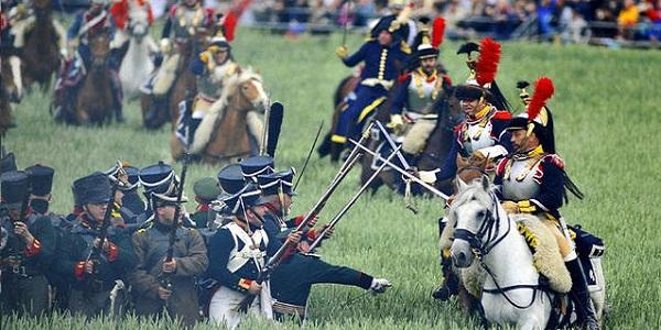 Waterloo-ricostruzione-battaglia