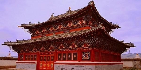 mongolia tempio-Erdene-Zuu