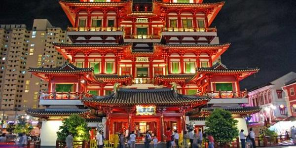singapore Tempio-del-Dente-di-Buddha